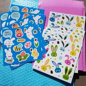 NEW 162 Happy Easter Stickers (12 pages)